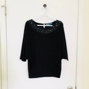 Alice + Olivia Batwing Sleeve Top, Size S